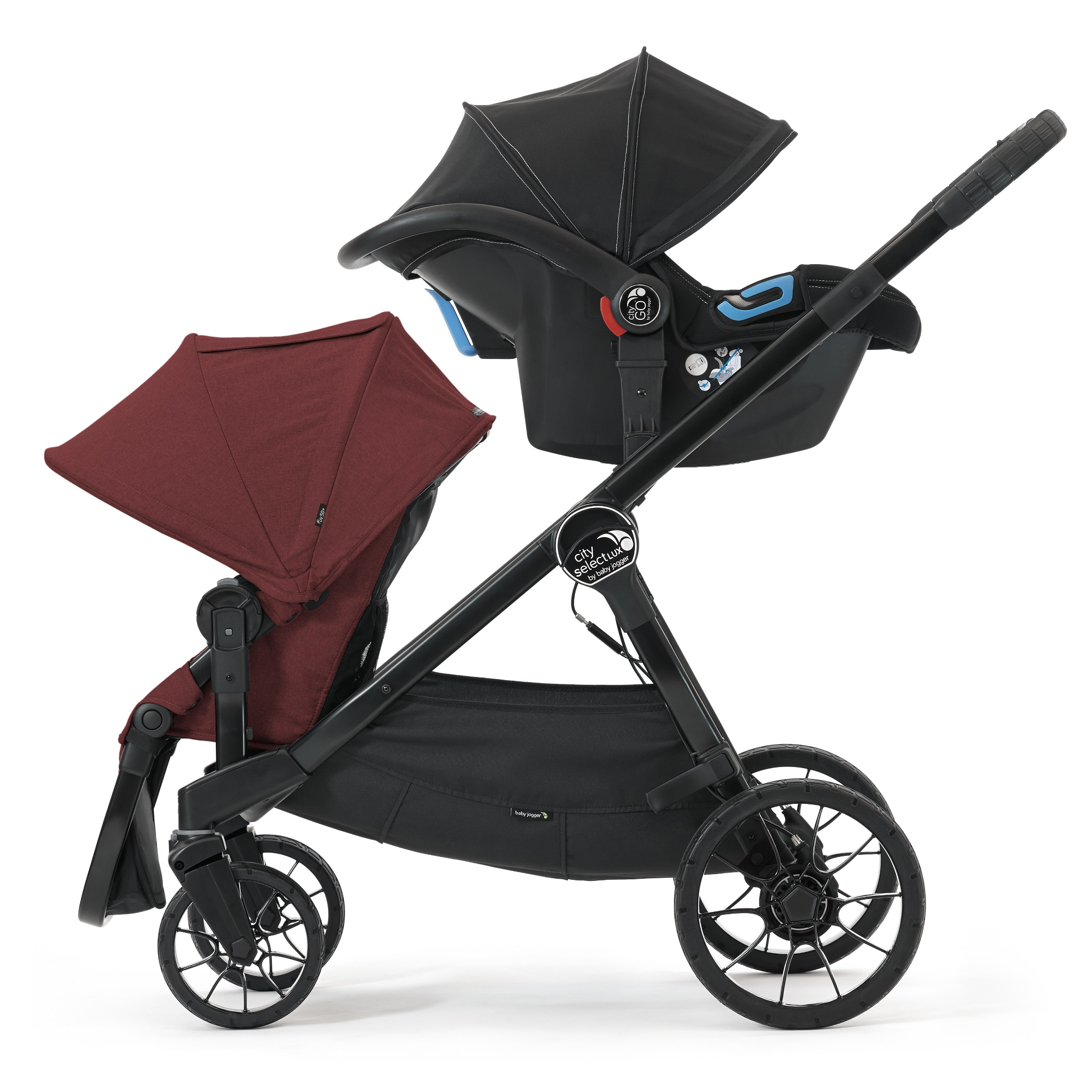 Baby Jogger City Select Lux Stroller Port Baby And