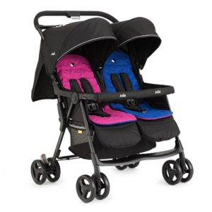 Joie_Aire_Twin_Stroller_Blue_Pink