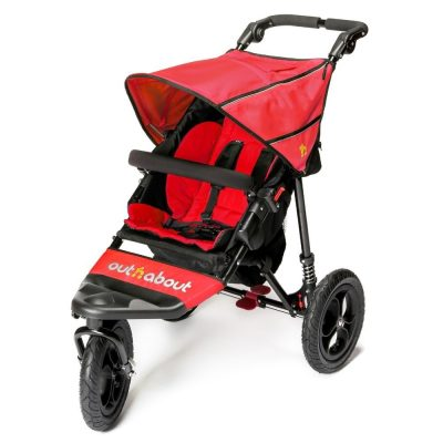 Out N About Nipper Single V4 - Carnival Red