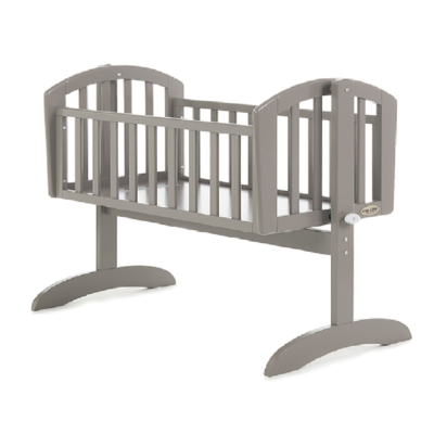 OBABY SOPHIE SWINGING CRIB TAUPE GREY