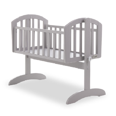 OBABY SOPHIE SWINGING CRIB WARM GREY