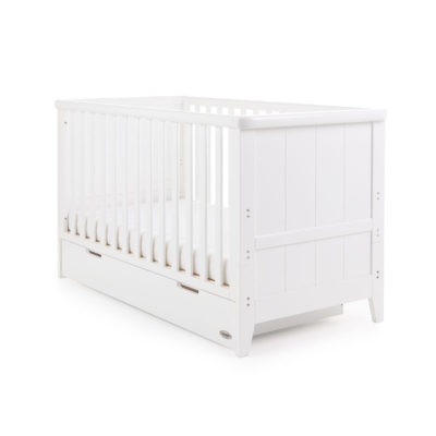 Obaby Belton Cot Bed White