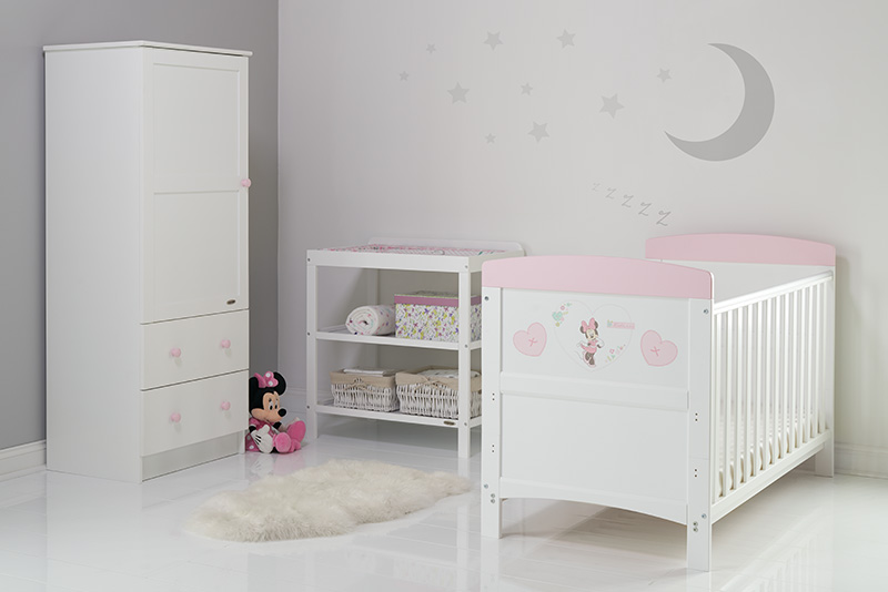 Obaby Disney Inspire Minnie Mouse 3 Piece Room Set And