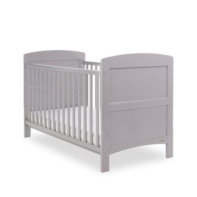 Obaby Grace Cot Bed - Warm Grey