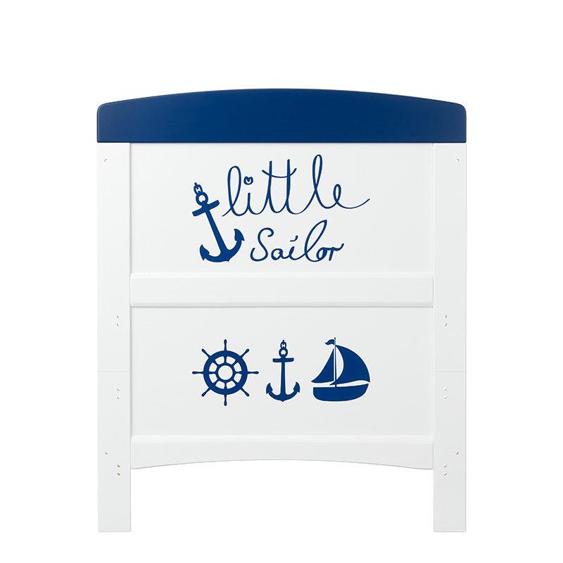 Obaby Grace Inspire Cot Bed - Little Sailor 3