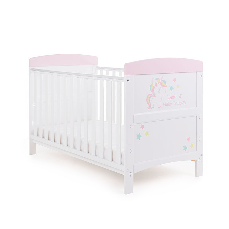 Obaby Unicorn Grace Inspire Cot Bed