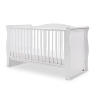 Obaby Ingham Sleigh Cot Bed - White