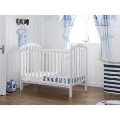 Obaby Lily Cot - White 2