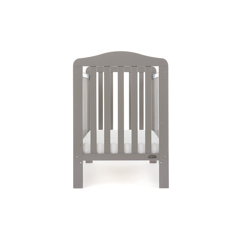 Obaby Ludlow Cot - Taupe Grey 4