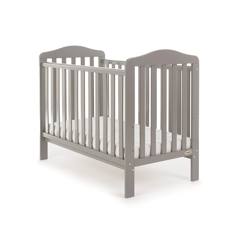 Obaby Ludlow Cot - Taupe Grey