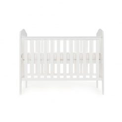 Obaby Ludlow Cot - White 2