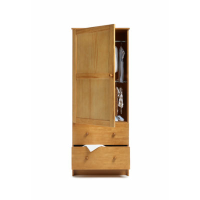 Obaby Single Wardrobe - Country Pine 2