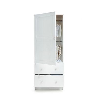 Obaby Single Wardrobe - White 2