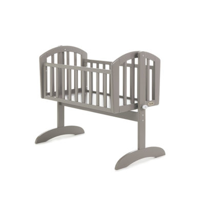 Obaby Sophie Swinging Crib - Taupe Grey