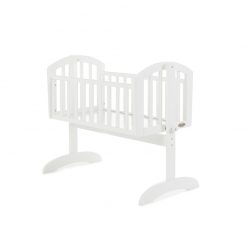 Obaby Sophie Swining Crib - White
