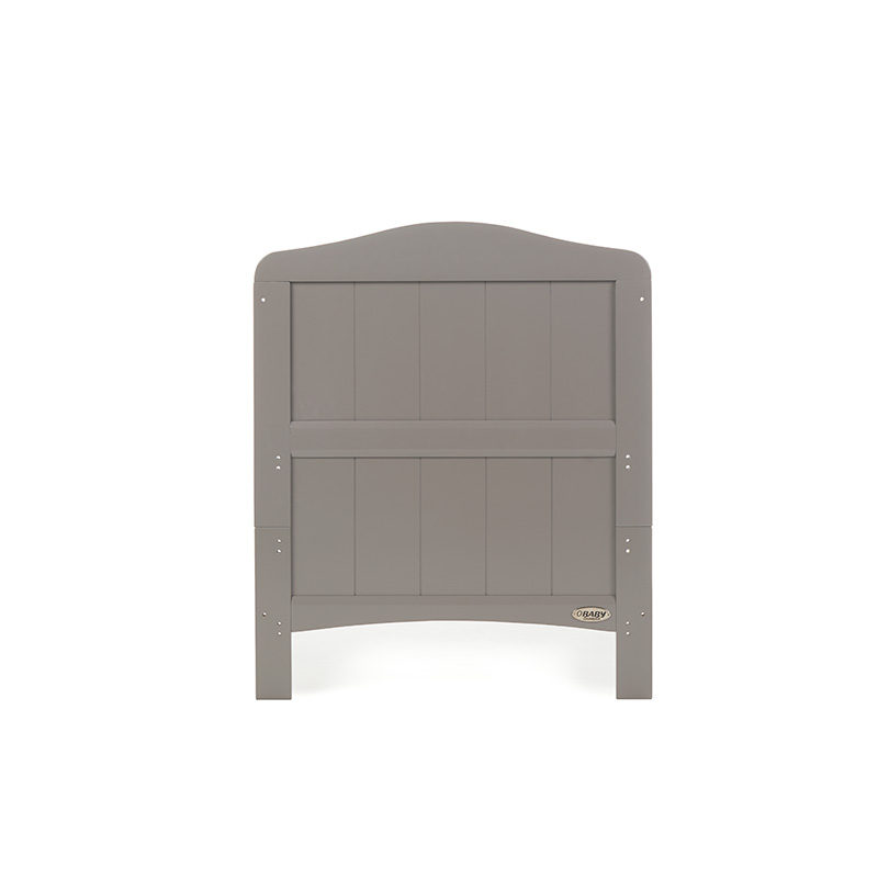 Obaby Whitby Cot Bed - Taupe Grey 6