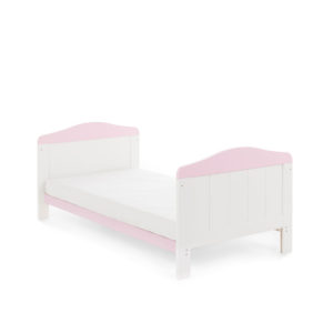 Obaby Whitby Cot Bed - White with Eton Mess 5
