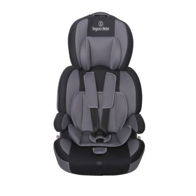 Seguro Bebe Bravo Isofix Grey on Black 5