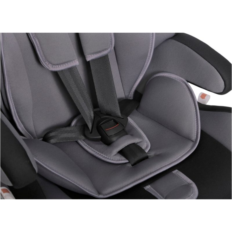 Seguro Bebe Bravo Isofix Grey on Black 8