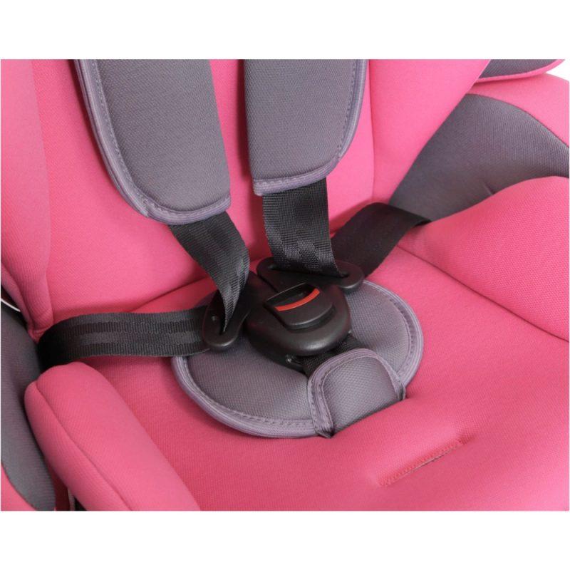 Seguro Bebe Lima Pink on Grey 7