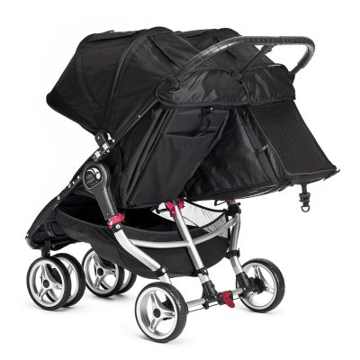 baby jogger city mini double black 3
