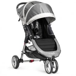 baby jogger city mini single steel grey