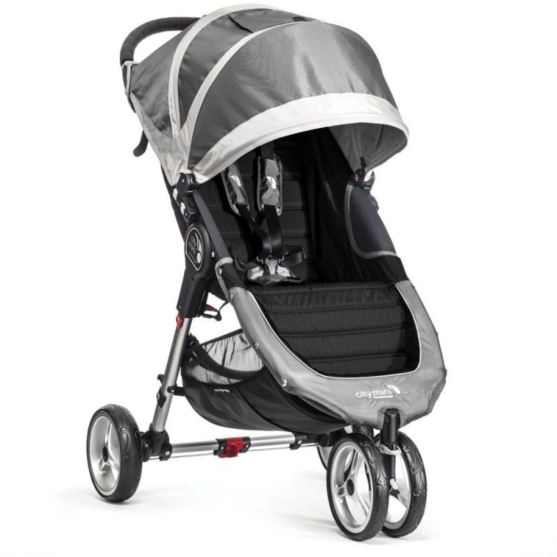 baby jogger city mini single steel grey