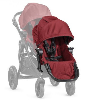 baby jogger city select add on seat unit garnet