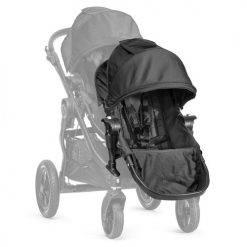 baby jogger city select additional seat unit black