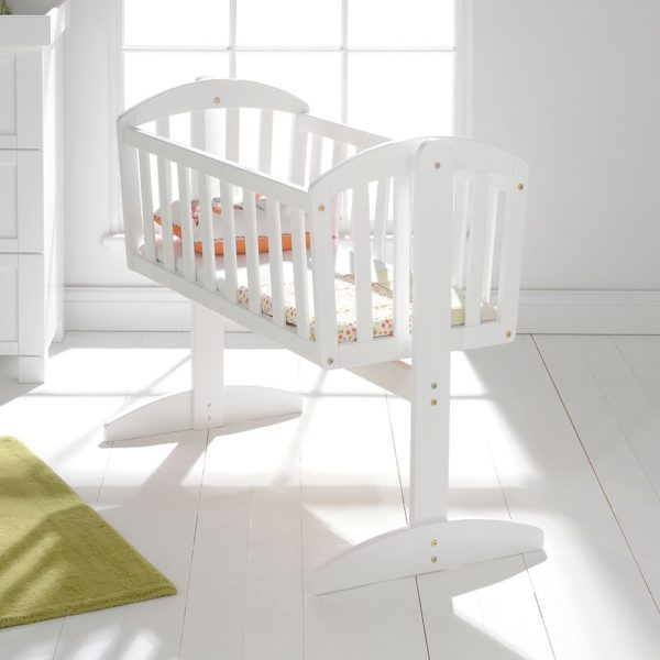 Will not swinging baby cribs think, that