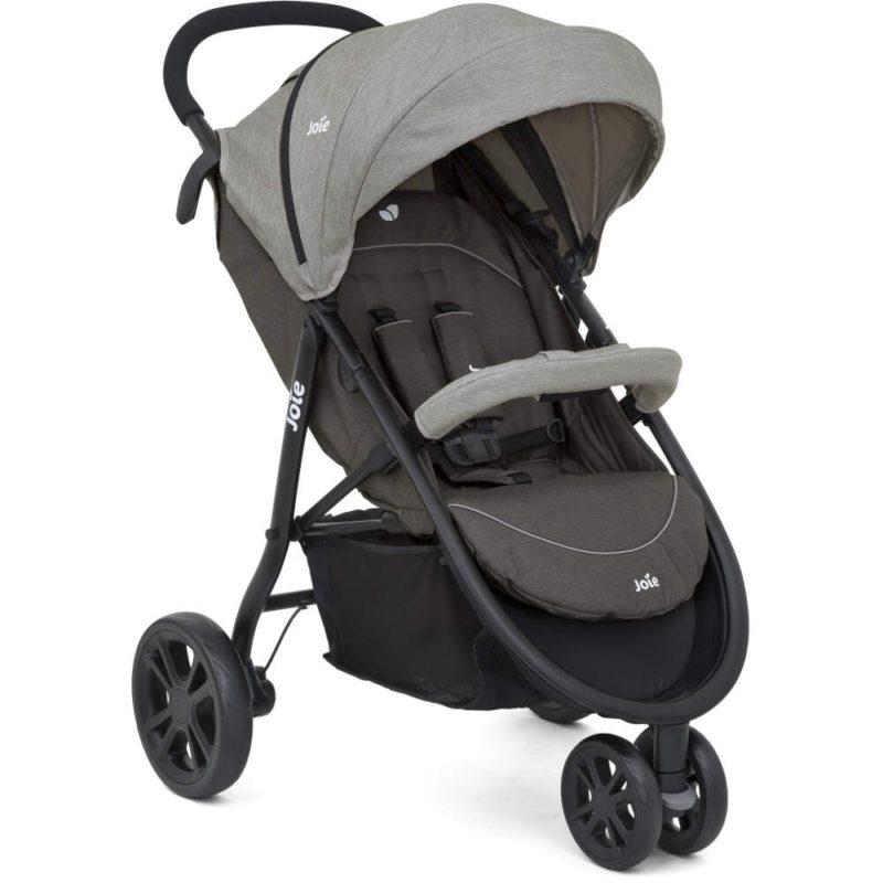 Joie Litetrax 3 Wheel Stroller Dark Pewter