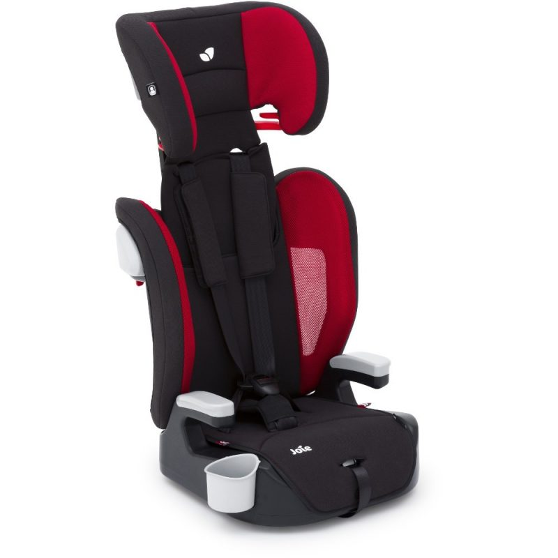 joie_Elevate_Cherry car seat, 123, 4