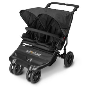 Out N About Little Nipper Double - Jet Black