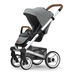 mutsy nio adventure storm grey pushchair silver frame