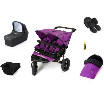 nipper double bundle purple