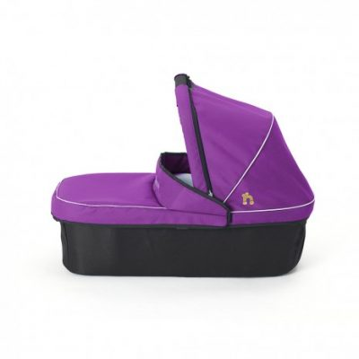 Out N About Nipper Single Carrycot - Purple Punch