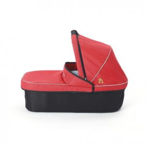 Out N About Nipper Single Carrycot - Carnival Red