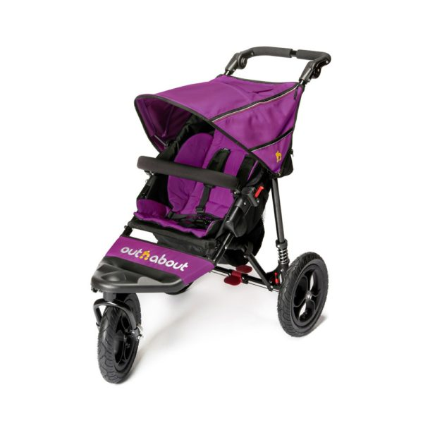 Out N About Nipper Single V4 - Purple Punch