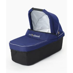 Out N About Nipper Single Carrycot - Royal Navy
