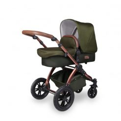 003_Stomp-V4_Woodland-Bronze_Carrycot-Angle-600x600