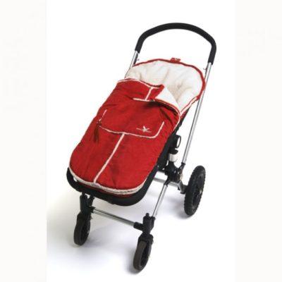 Wallaboo Red Toddler Footmuff