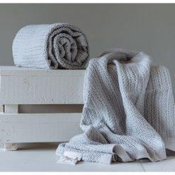 Abeille Cellular Blanket - Grey