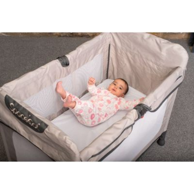 Hippychick Tencel Fitted Bed Protector - Made for SpaceCot