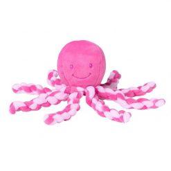 Nattou Lapidou - Piu Piu Octopus Coral and Light Pink