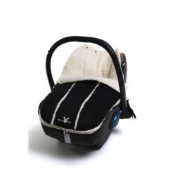 Wallaboo Newborn Footmuff - Black