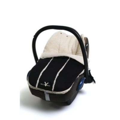 Wallaboo Black Newborn Footmuff