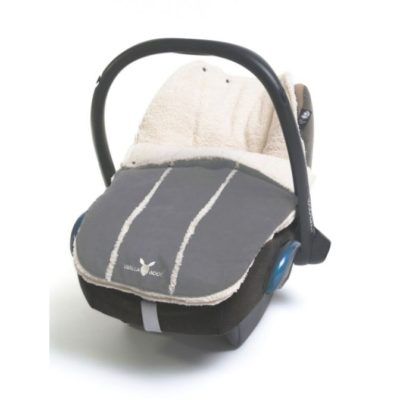 Wallaboo Newborn Footmuff - Grey