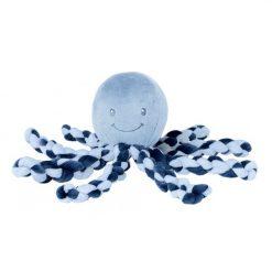 Nattou Lapidou - Piu Piu Octopus Navy Blue and Light Blue