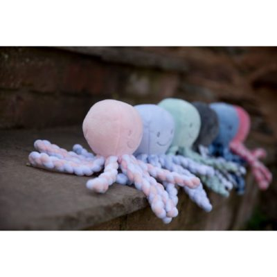 Nattou Lapidou - Piu Piu Octopus Light Pink and White