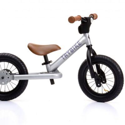 Trybike Steel Bike - Silver